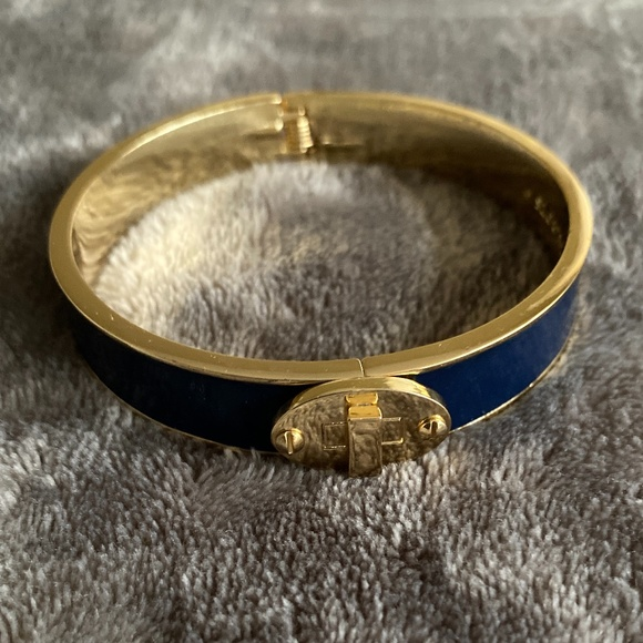 Talbots Blue Enamel Bangle